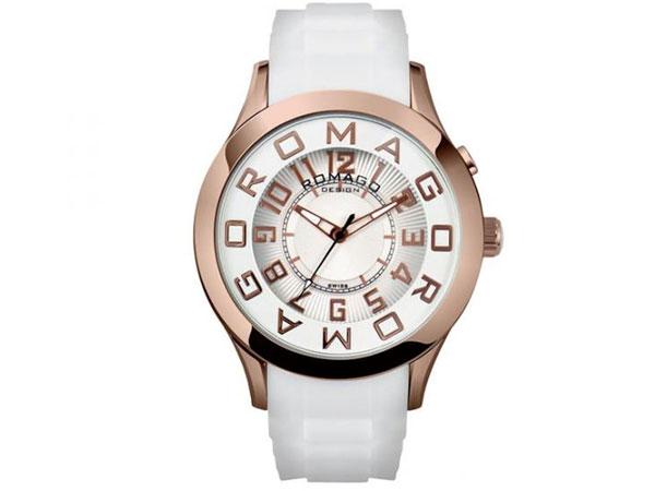 ロマゴ デザイン ROMAGO DESIGN 腕時計 メンズ レディース ユニセックス RM015-0162PL-RGWH-1