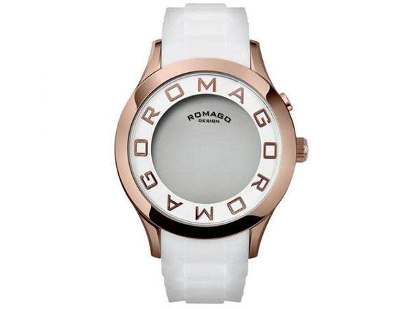 ロマゴ デザイン ROMAGO DESIGN 腕時計 メンズ レディース ユニセックス RM015-0162PL-RGWH-2