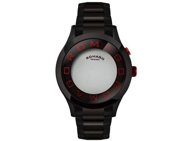 ロマゴ デザイン ROMAGO DESIGN 腕時計 メンズ レディース ユニセックス RM015-0162SS-BKRD-2
