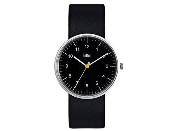 ブラウン BRAUN クオーツ メンズ 腕時計 BN0021BKBKG ブラック レザーベルト-1