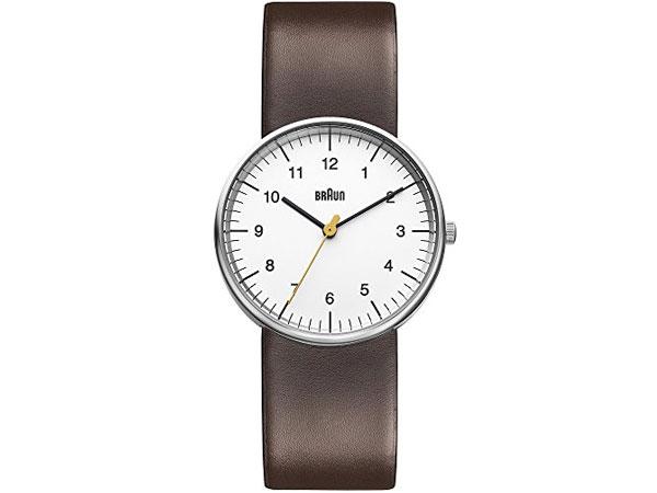 ブラウン BRAUN クオーツ メンズ 腕時計 BN0021WHBRG ホワイト レザーベルト-1