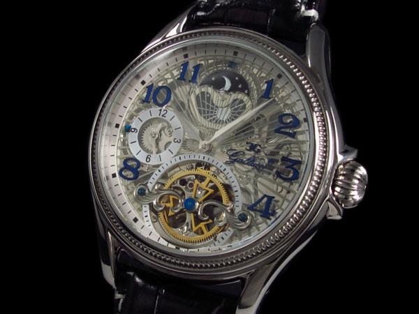 GALLUCCI ガルーチ 腕時計 スケルトン 自動巻き WT23145SK-SS-1