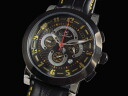 WT23385CH-BKYL men's Chronograph Watch Gallucci GALLUCCI