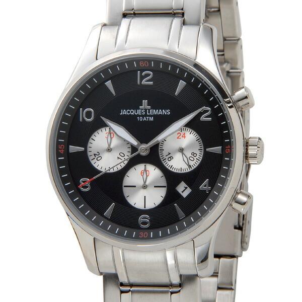 ジャックルマン JACQUES LEMANS ケビンコスナー メンズ 腕時計 1-1654I-1