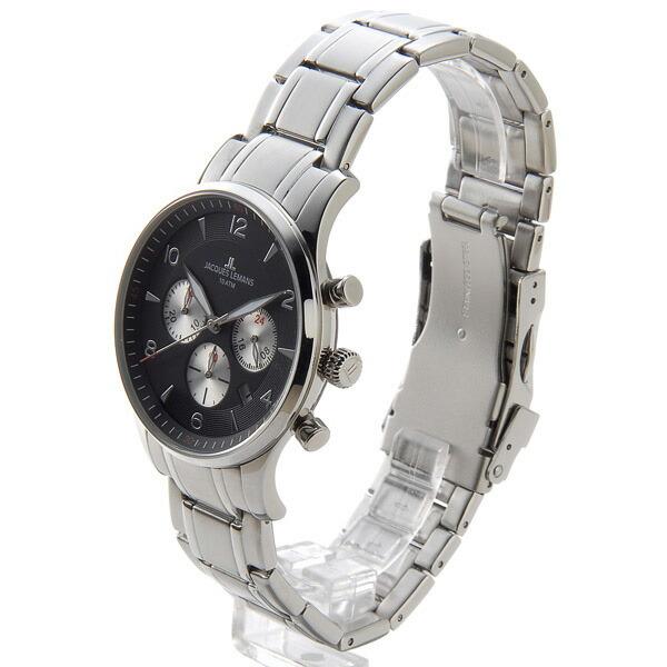 ジャックルマン JACQUES LEMANS ケビンコスナー メンズ 腕時計 1-1654I-2