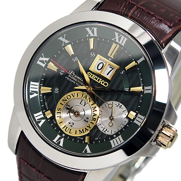 セイコー SEIKO プレミア キネティック パーペチュアル 腕時計 SNP127P1 メンズ-1