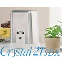 Home water purifiers and easy to drink delicious water. Realize the taste of natural water filter mineral stones! Zenken water detector Crystal 21 Super Deluxe MFH-100SDX