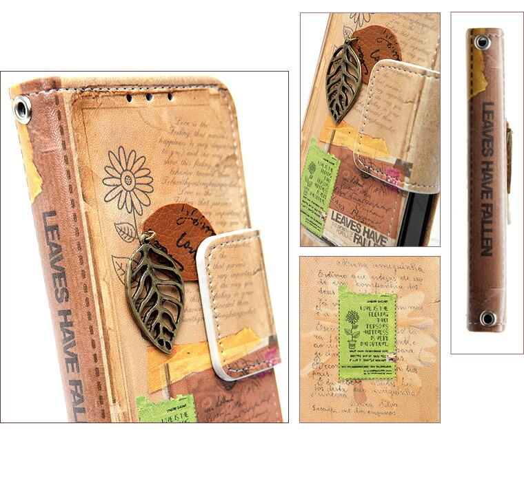 iPhone5S/5 パリの風景シリーズ DiaryType
