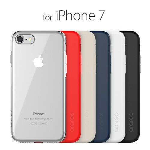 iPhone7 ������ araree Airfit�ʥ��� �����ե��åȡ˥����ե��� ���С� �С�������
