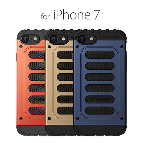 iPhone7 ������ araree Wrangler Force�ʥ��� ��顼�ե������˥����ե��� ���С� �С�������