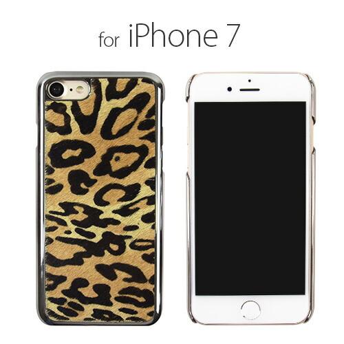 iPhone7 ������ GAZE Leopard Calf Hair Bar�ʥ����� �쥪�ѡ��ɥ����եإ����С��˥����ե��� �ܳ� ���С�