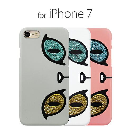 iPhone7 ������ GAZE Kuncat X Gaze Swarovski Odd-eye�ʥ����� ����åȥ��å��� �����ե��������åɥ����˥����ե��� ���С�