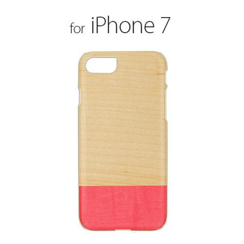 iPhone7 ������ ŷ���� Man&Wood Miss match�ʥޥ�ɥ��å� �ߥ��ޥå��˥����ե��� ���С� ����