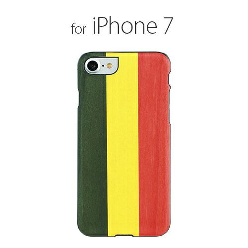 iPhone7 ������ ŷ���� Man&Wood Reggae�ʥޥ�ɥ��å� �쥲���˥����ե��� ���С� ����
