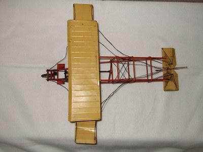 手绘金属微型(双翼飞机)