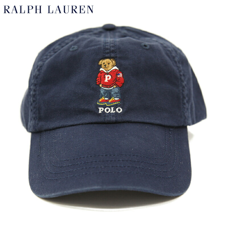 Polo Ralph Lauren Bear Baseball Cap