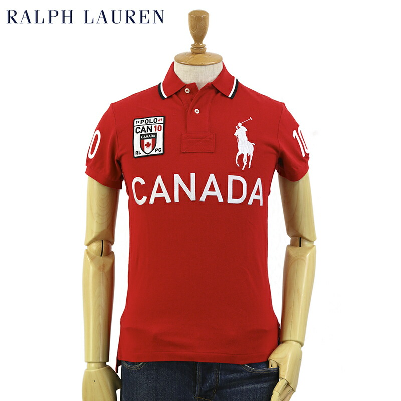 Ralph lauren men 39 s custom fit country polo shirts for Custom polo shirts canada