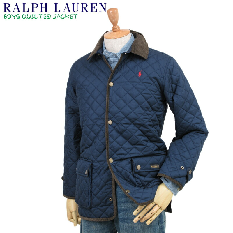 polo by ralph lauren boys quilted jacket us ralph lauren boys size. Black Bedroom Furniture Sets. Home Design Ideas