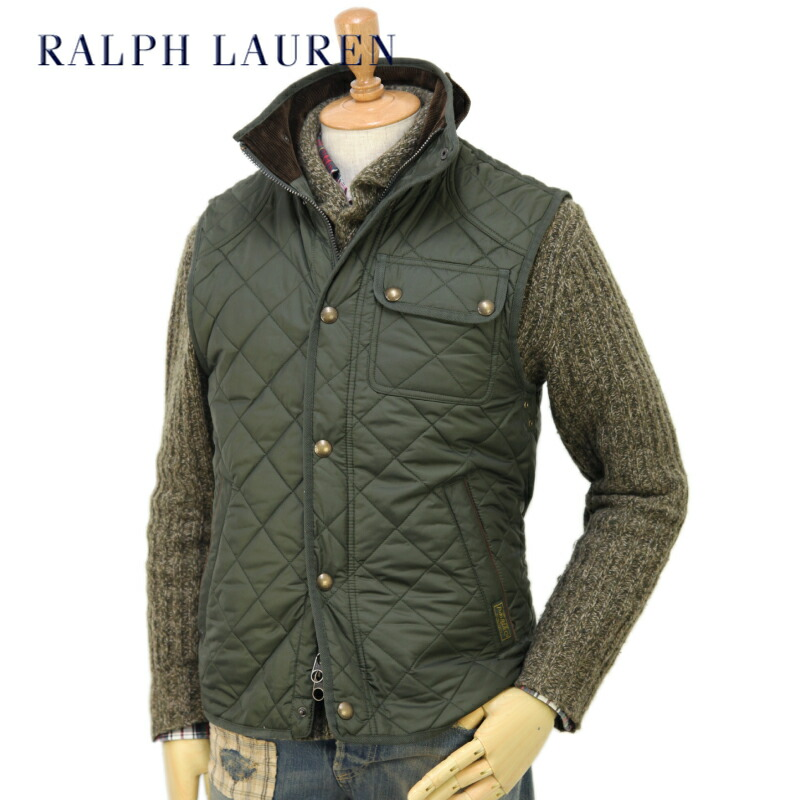 【楽天市場】polo By Ralph Lauren Men S Epson Quilted Vest Us ポロ