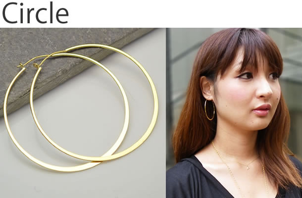 circle shape hoops