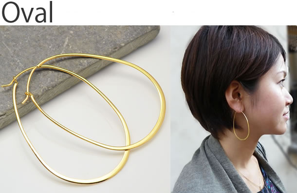 oval shape hoops