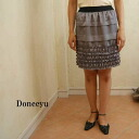 Yamato dress doneeyu satin pleats graige skirt fs3gm