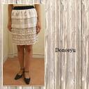 Yamato dress doneeyu southern plates beige skirt