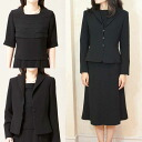 Product made in three points of black four Maruti ard blouse suit oar season Japan 2121