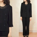 Product made in three points of summer black formal underwear tailor suit Japan 5053