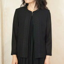 サマーブラックフォーマル-7 minutes-length front blouse summer Japan-7940 10P13oct13_b fs3gm