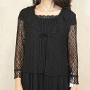 Product made in summer black formal race bolero Japan 7990 for summer