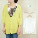 RNA-N linen T-cloth cardigan L-8798