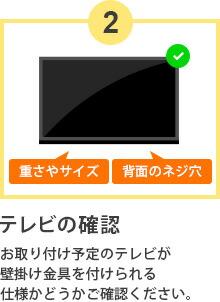 テレビの確認