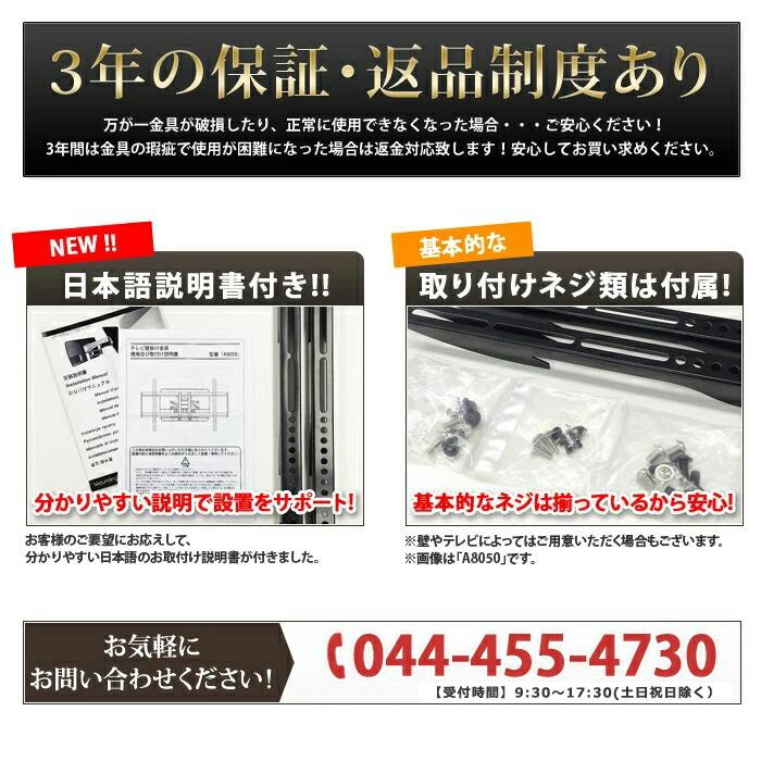 日本語説明書や基本的なネジ類は付属してます