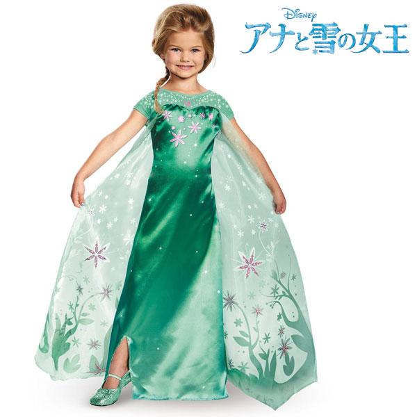 アナと雪の女王エルサのサプライズドレスエルサ子供女の子用コスチュームディズニープリンセス