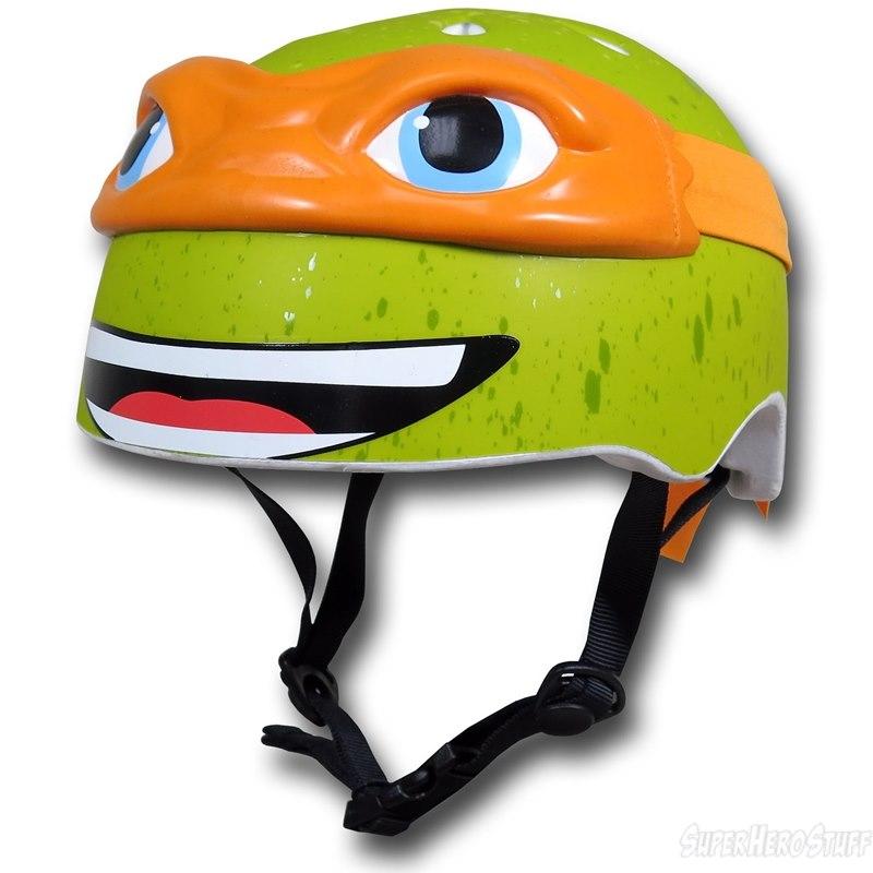 自転車の 自転車 赤ちゃん ヘルメット : Ninja Turtle Kids Bike Helmets