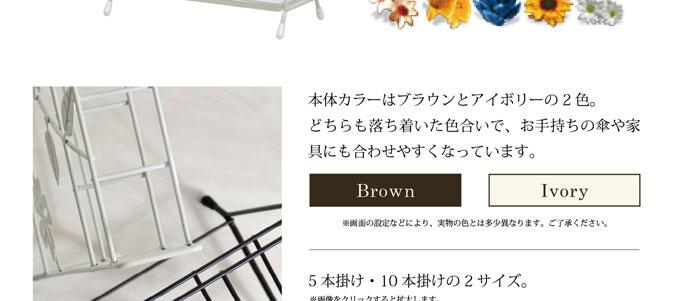 茶色ブラウンホワイト