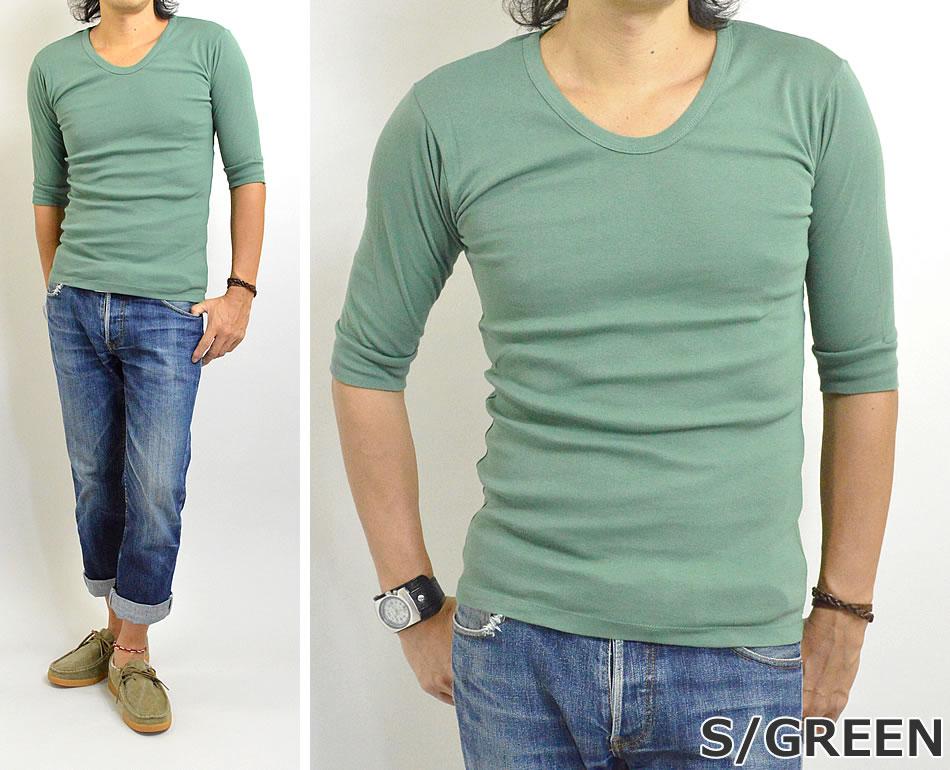 6分袖Tシャツ