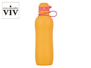 VIV/ヴィヴ シリコンボトルアクティブ 700mL 【SILICONE BOTTLE ACTIVE/水筒】 59893 オレンジ