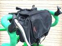Pockets full! multifunction convenience! Light weight! 2-way front bag (black / blue / orange)