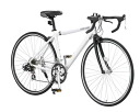For diet convenient for LANDGEAR land gear bicycle G-RD7014 black / white ◆ attending school!