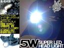 5w 슈퍼 LED 헤드라이트 극-KIWAMI-