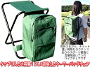 Combine the daypack and cooler! Lightweight folding chair ◆ coolerbagcear