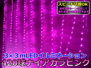 Illuminations pink Niagara to flow through the 3m420 ball to