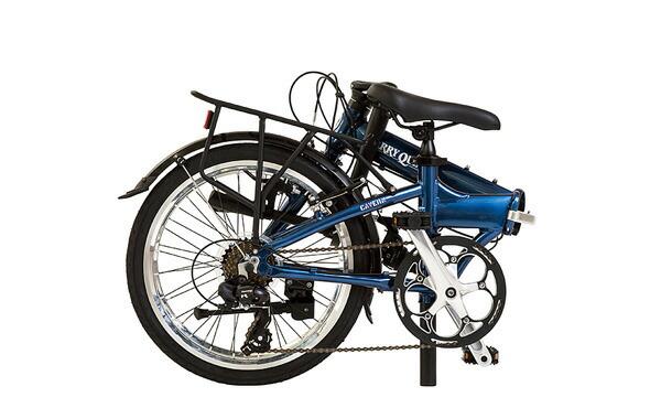 【ハリークイン HARRY QUINN】 折りたたみ自転車 Cavern AL-FDB207 ネイビー 20型 外装7段変速【折りたたみ自転車】【イオン】【自転車】【店舗受取対象外】【組み立て対応】【20インチ】 4/15(土)10:00~4/22(土)9:59 スマホ限定エントリーでポイント10倍!全国のイオンバイク、イオンのお店で初回点検が無料で受けられます。