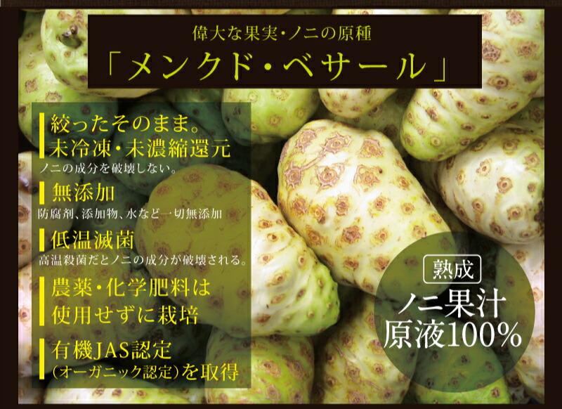 偉大な果実・ノニの原種「メンクド・ベサール」