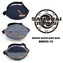 """""""Samurai jeans."""" Lot.DB003-15, shoulder bags, 3-COLOR, 2015 SS ★ NEWI TEM. """""""
