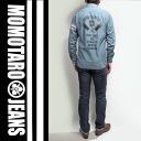 《 Momotaro JEANS 》 5oz taking the field back print chanbray shirt / Selvage_Chambray_GTB_Back_Print_Shirts(ID)Lot.SJ091P