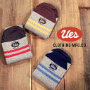 UES( waste) MOKU-SOX / 杢 socks 3Col.GRAY*RED/NAVY/MUSTARD Made in JAPAN ★ product★