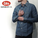 UES( waste) chambray work shirt / CHAMBRAY WORK SHIRTS Lot.500954 ■ Made in JAPAN■